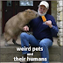 14 Pictures of Weird Pets and Their Humans