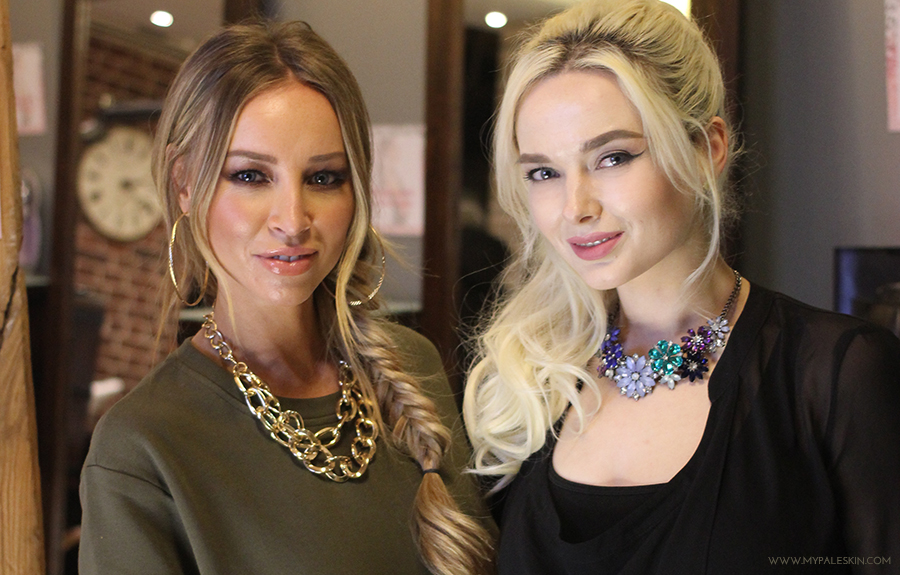 Lauren Pope, hair extensions, hair rehab london, em ford, my pale skin