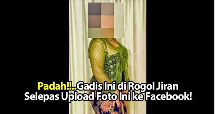 Gadis dirogol selepas upload foto gedik ke Facebook Betul ke cerita ni