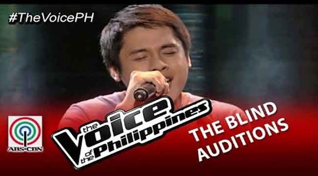 Video: Mark Cando sings 'Get Here' on The Voice of the Philippines Season 2 Blind Audition