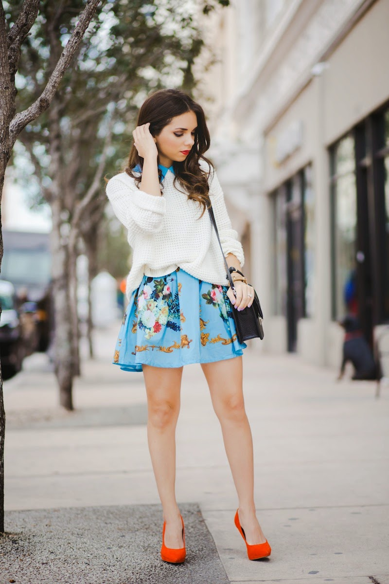miami fashion blogger, fashion blogger, nany's klozet, daniela ramirez, midi skirt, crop top, how to wear, fashion trends,