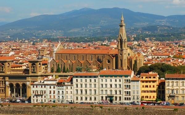 Florencja Piazza Santa Croce