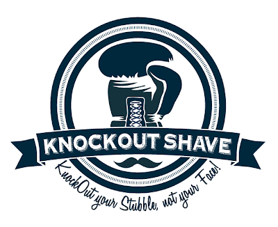 Knockout Shave boxing glove official logo