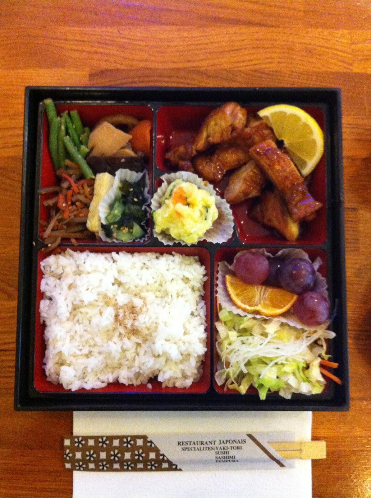 Ma vraie cuisine japonaise adresse d 39 un bon bento pas - Ma vraie cuisine japonaise ...