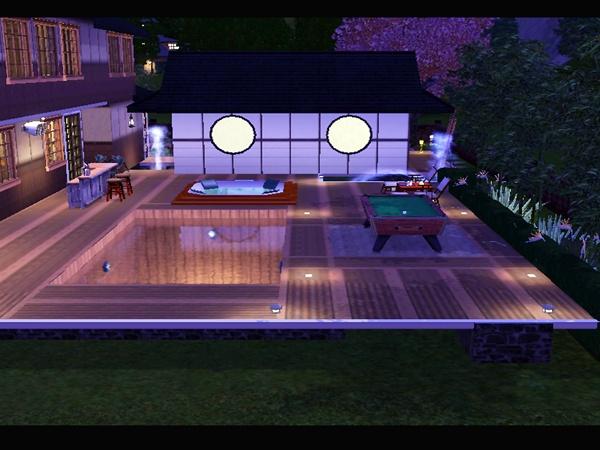 Koalafolio sims3 house living design jc2 house the sims 3 for Sims 3 pool design