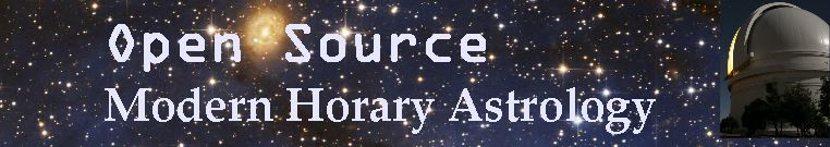 Open Source Modern Horary Astrology