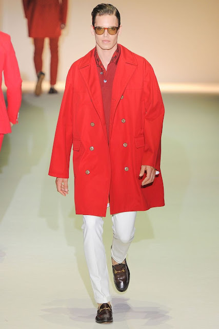 Male model Mark Cox S/S 2013 Gucci