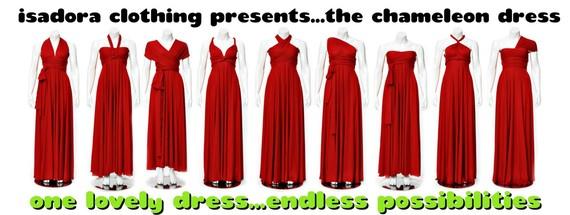 Способы платье трансформер