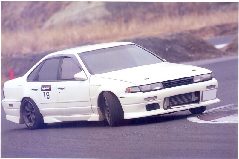 Nissan Cefiro A31, japońskie samochody do driftu, sportu, wyścigów, JDM, auta z rynku japońskiego, fajne sedany