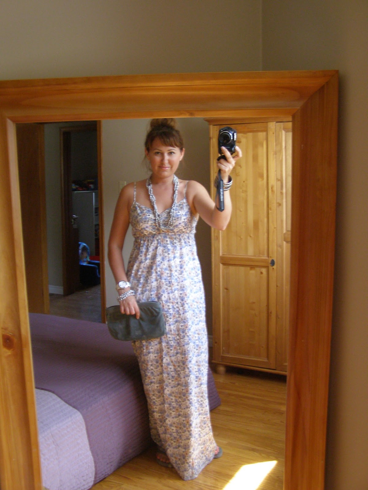Never New: The &-39-Holy Grail&-39-....A Truly Maxi Dress And A Peach Top ...