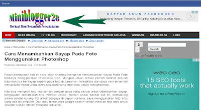 Gamabr judul Blog