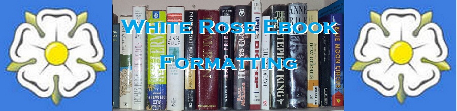 White Rose Ebook Formatting
