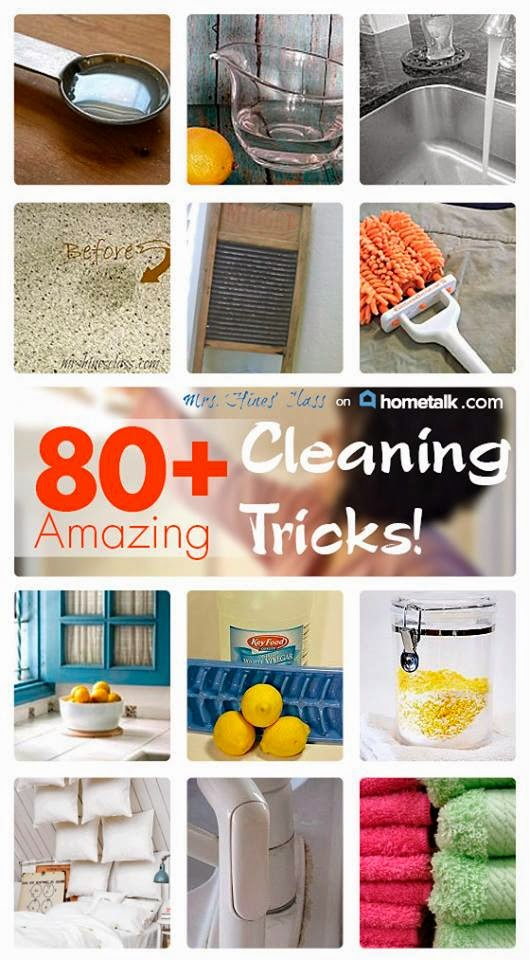80+ Amazing Cleaning Tricks