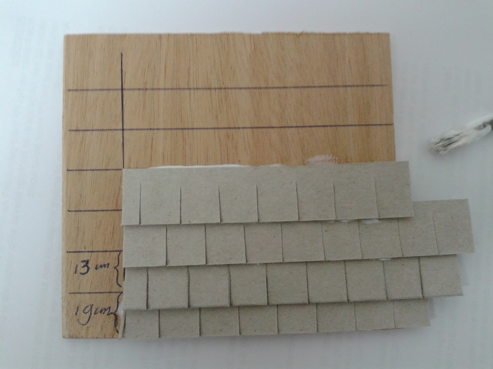 how to make small house thin cardboard