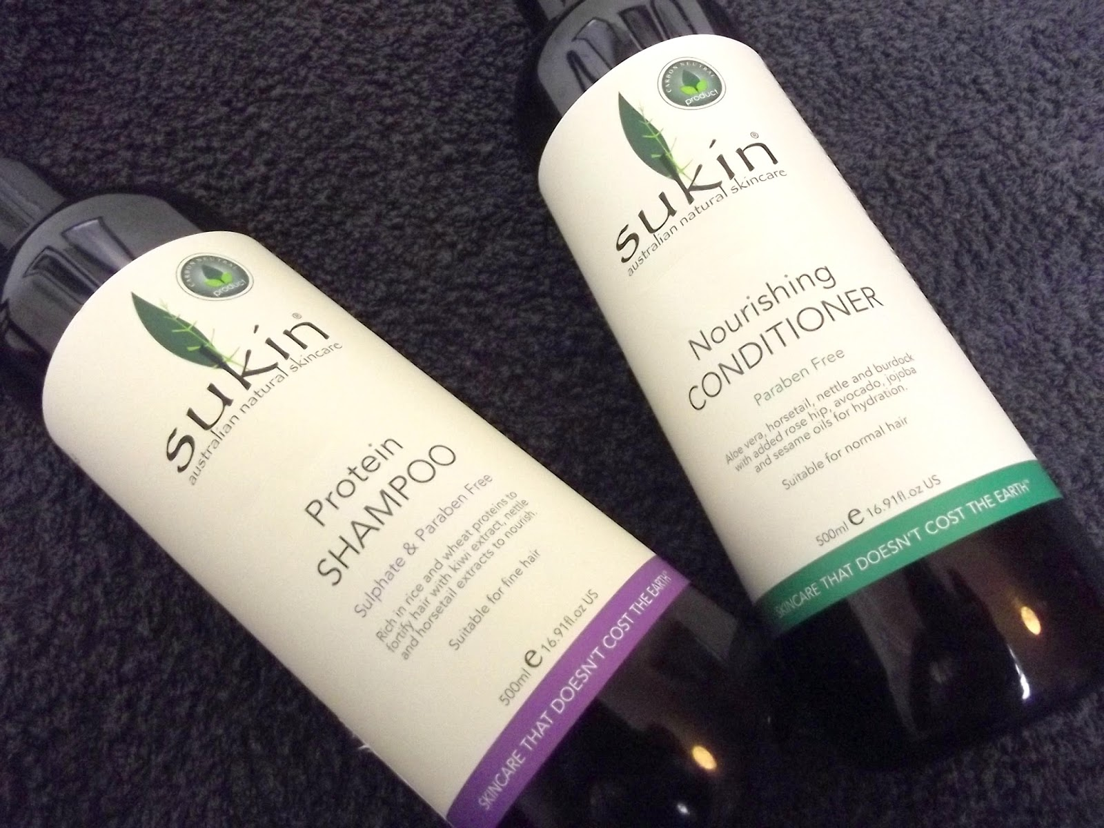 Sukin Protein Shampoo & Nourishing Conditioner
