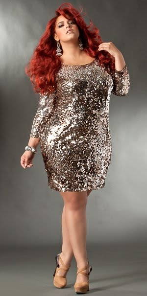 December 2012 Buying Plus Size Dresses Outfits