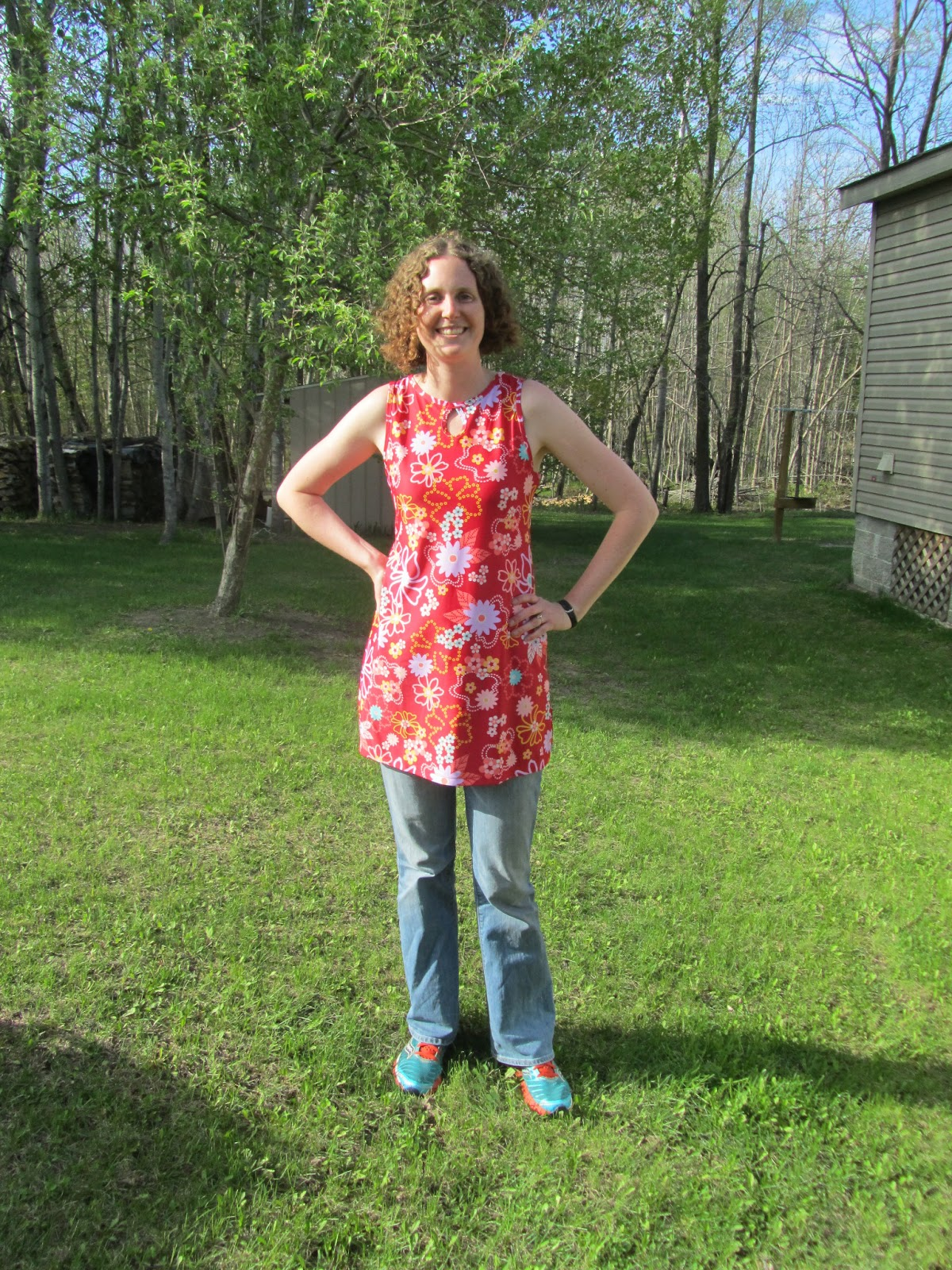 Run Sam Run: Nuu-Muu Running Dress!