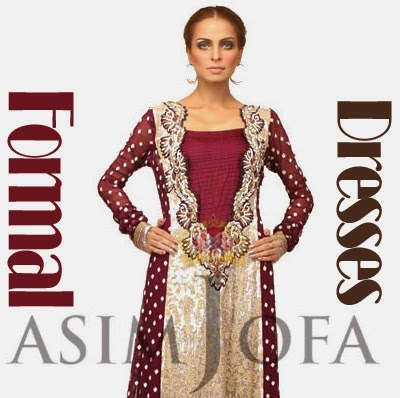 Asim Jofa Formal Wear 2014