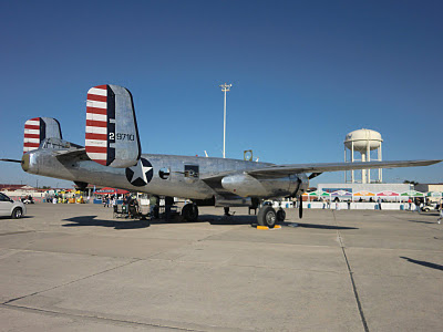 Randolph Air Force Base 2011 Air Show: B-25 Mitchell