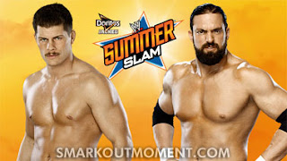 Watch Cody Rhodes vs Damien Sandow SummerSlam Match Online