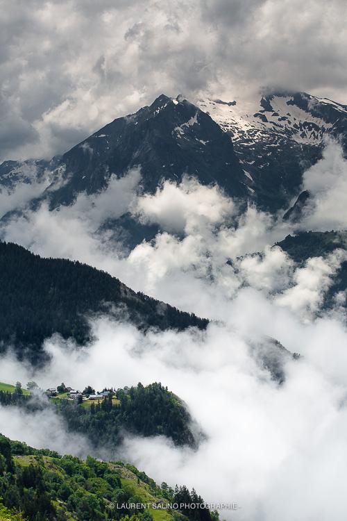 le village de Maronne - le Village dans les nuages - © Laurent Salino