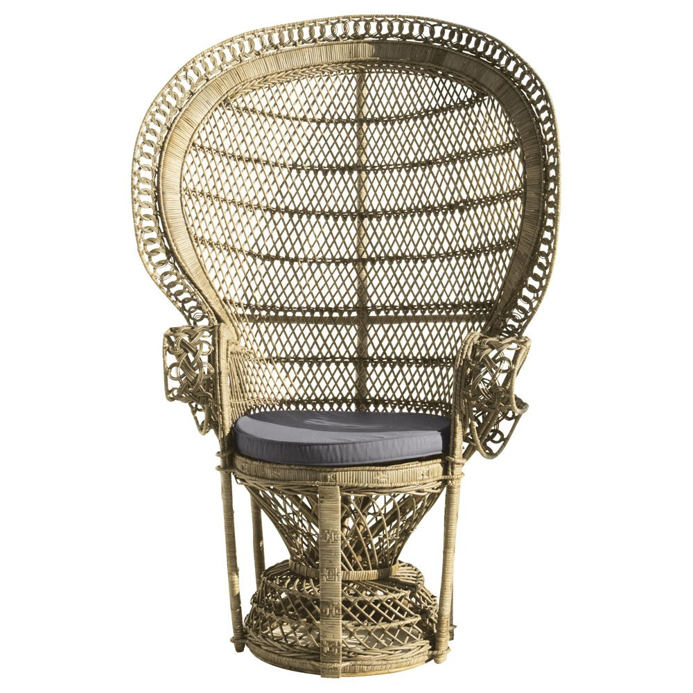 Seaseight design blog copy the style the wicker chair - Sedia maison du monde ...