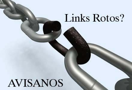 Avisanos los Links Rotos