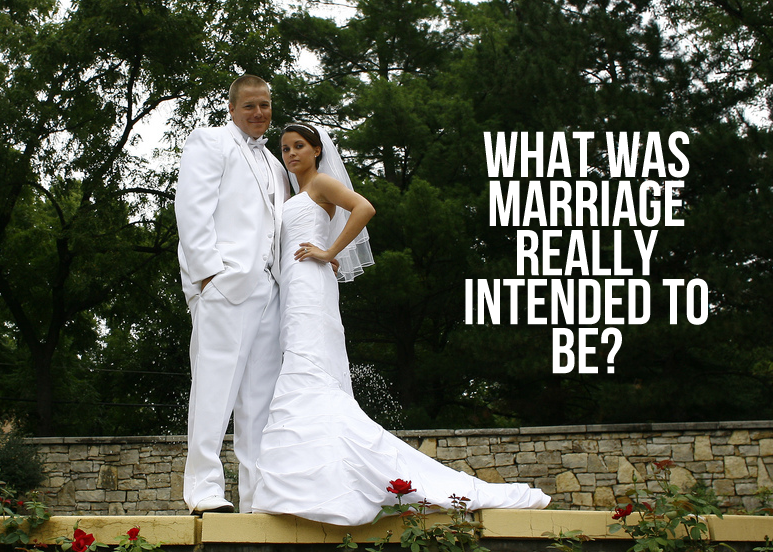 what is the true definition of marriage