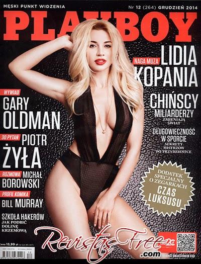 Playboy Poland - Lidia Kopania - Dezembro 2014