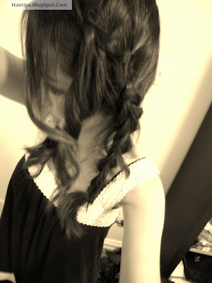 Hairstyling Dutch Braid Updo Tutorial - Bridal wedding look