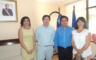 Colegio de Periodistas Atacama acuerda con Intendente Vargas trabajo conjunto en los 60 años del gremio