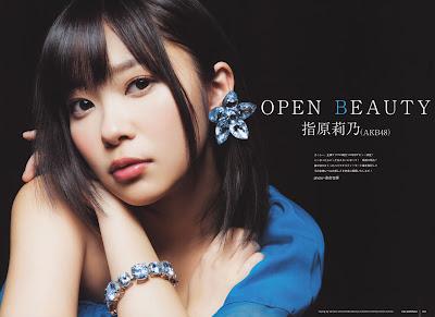 Rino Sashihara Open Beauty