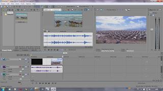Pengenalan fungsi dasar Pada Software video editing Sony Vegas 10