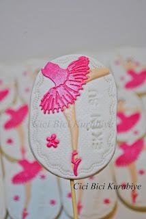 balerin kurabiye
