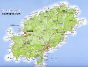 MAPA DE LA ISLA mapa ibiza