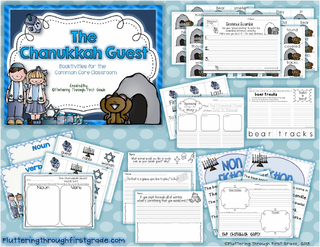 http://www.teacherspayteachers.com/Product/The-Chanukah-Hanukkah-Guest-Booktivities-for-the-Common-Core-Classroom-990066