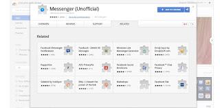 تشغيل فيس بوك ماسنجر على جوجل كروم