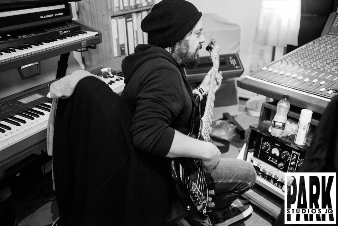 Birmingham recording studio Park Studios JQ | bass recording