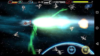 Screenshots of the Dariusburst SP for Android tablet, phone.