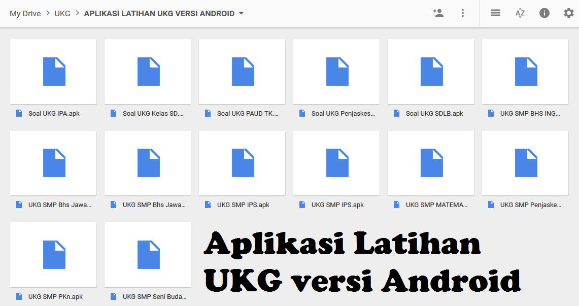 Aplikasi Latihan Ukg Versi Android Lengkap Smk Plus Assuyuthiyyah
