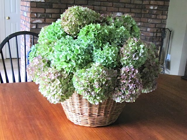 Sew Many Ways...: Re-Use Decorations…Sugared Fruit Hydrangea ...