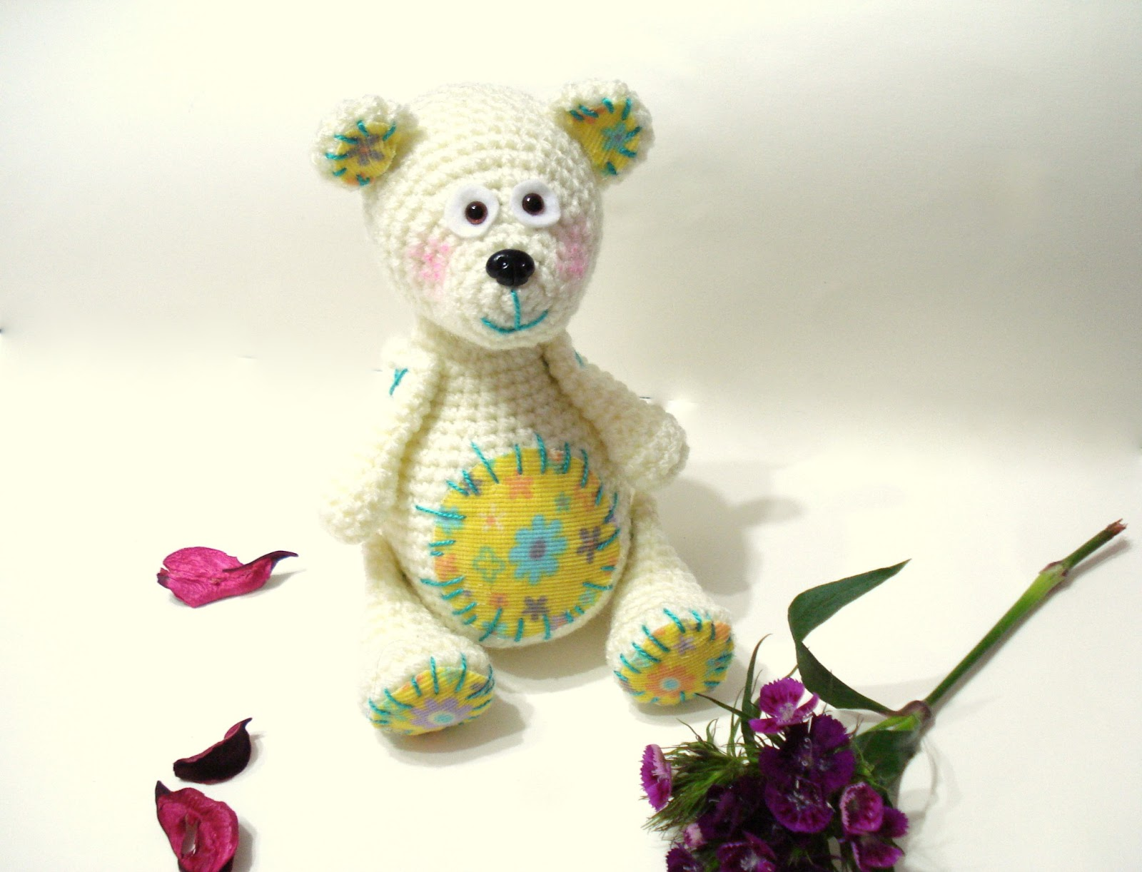 Amigurumi To Go Teddy Bear : AllSoCute Amigurumis: Amigurumi Teddy Bear Pattern ...