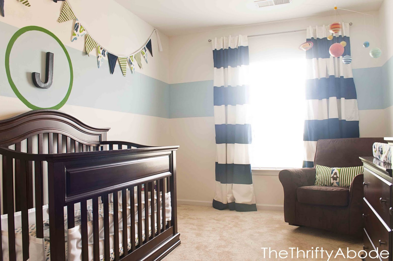 Space-y Nursery - The Thrifty Abode
