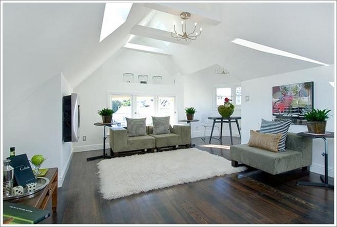 Illuminez votre salon avec une lucarne au plafond d cor de maison d corat - Decoration plafond salon ...