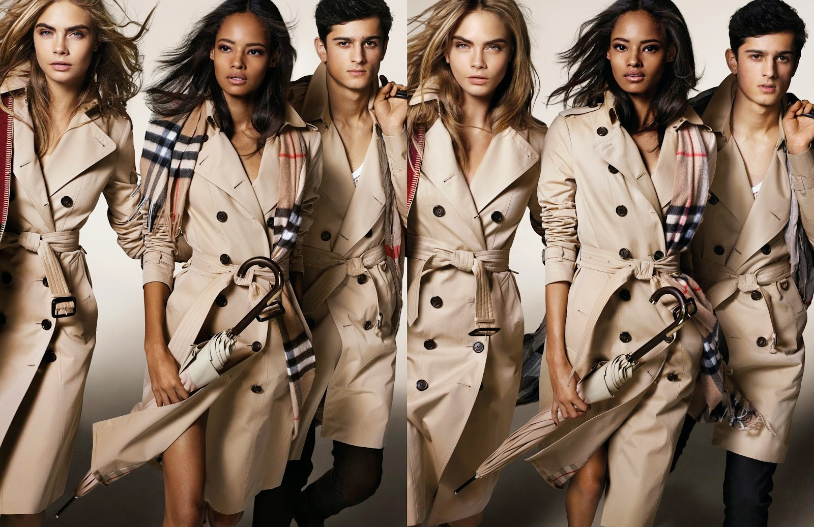 Burberry's Autumn/Winter 2014 Ad Campaign