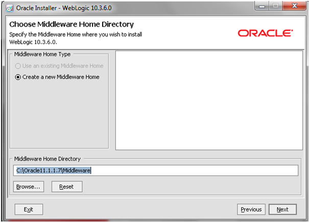 Weblogic10.3.6_Installation_Home