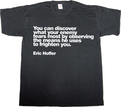 no fear independence catalan catalonia eric hoffer t-shirt ephemeral-t-shirts