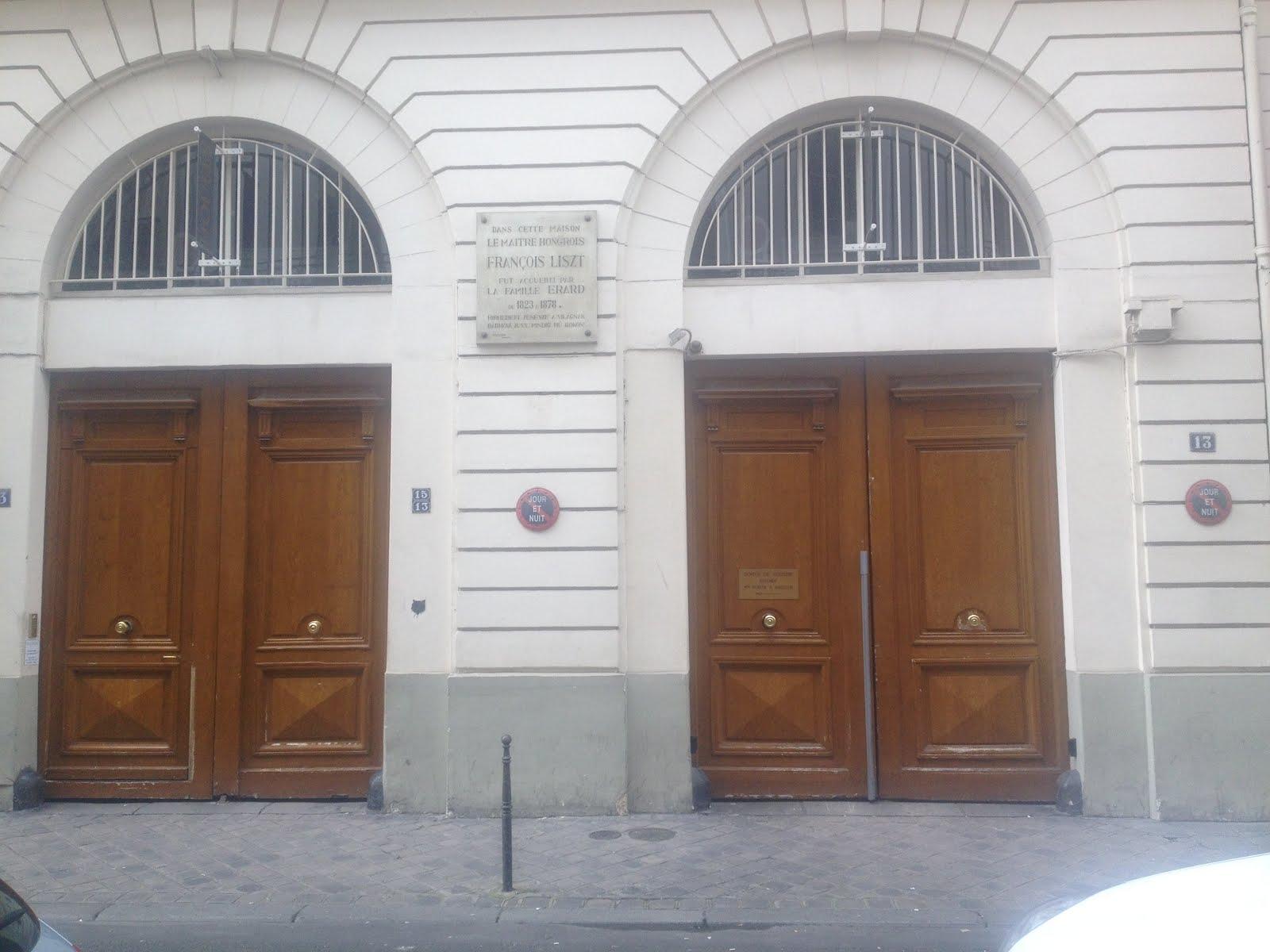 MAISON ERARD, 13 RUE DU MAIL, PARIS