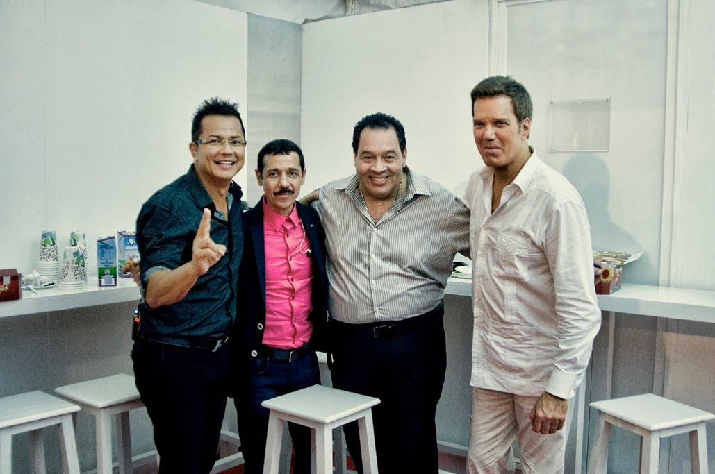 Charlie Zaa | Eddie Santiago | Tito Nieves | Willy Chirinos.