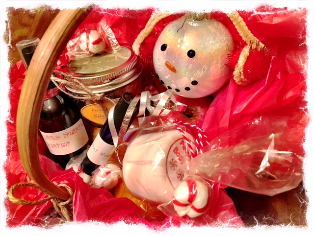 Beauty Begins with Biscotti: Essential oils gift basket